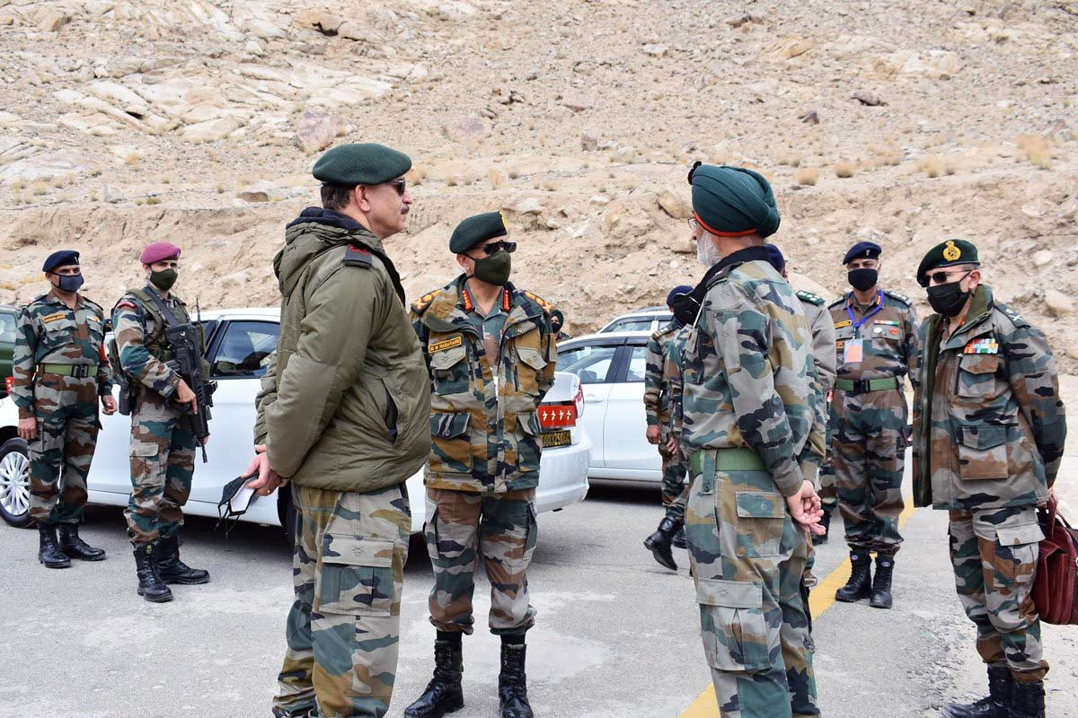 India China Army Firing Ladakh