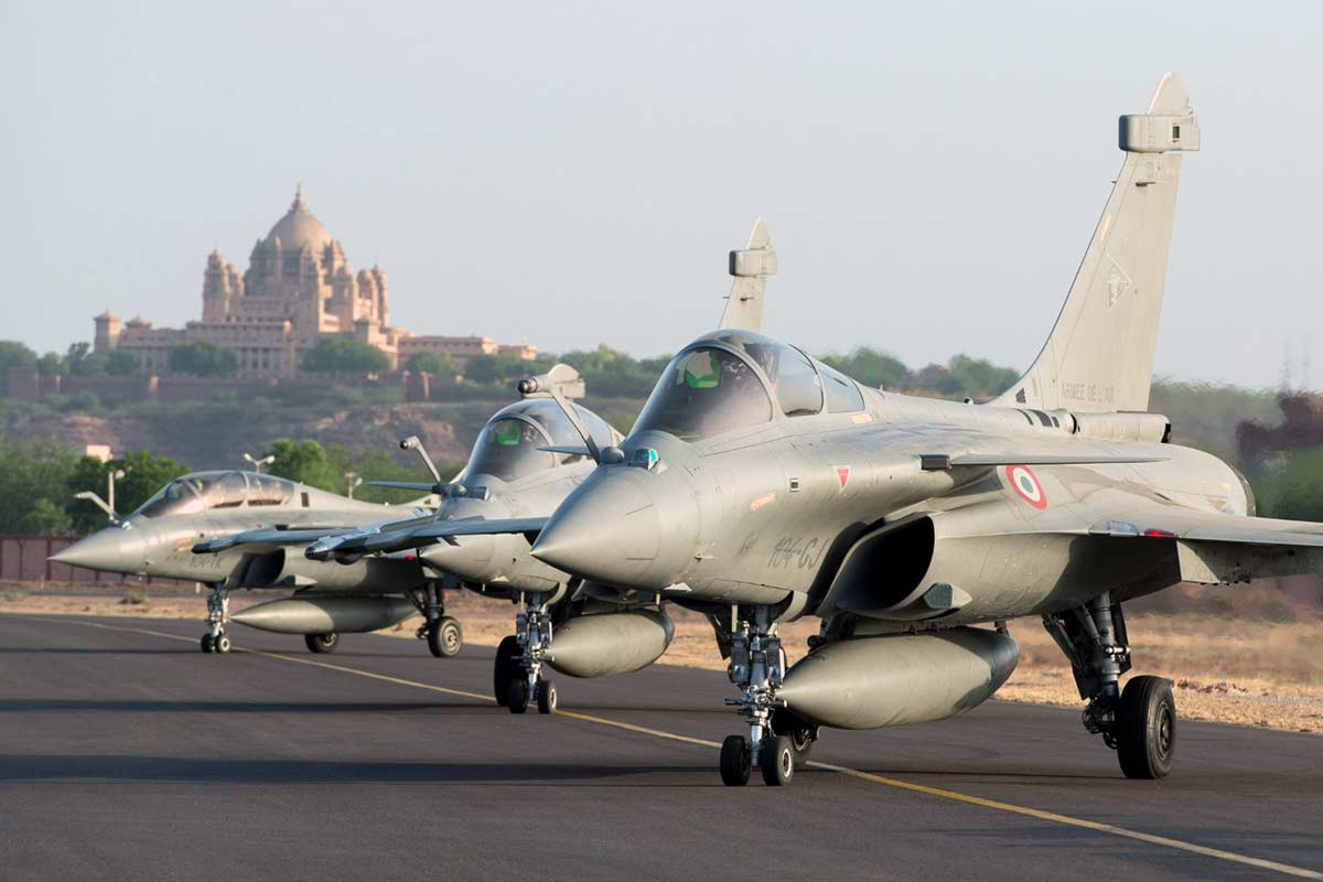 French air force aircraft in Jodhpur